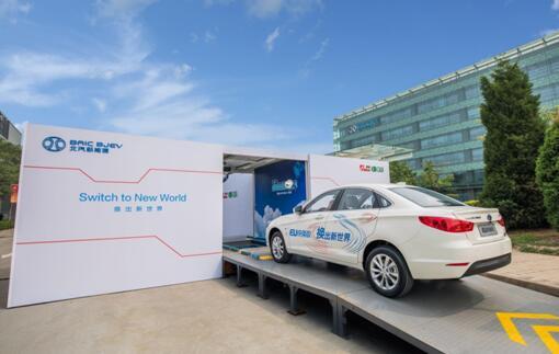 北汽蓝谷发布一季报 高端产品预售 换电模式提速