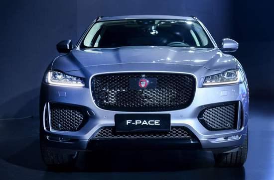 新款捷豹F-PACE上市 售47.58-78.78万元
