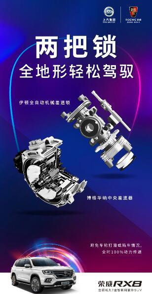 荣威RX8四驱穿越版上市 尊享售价16.88万元