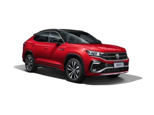 轿跑版 一汽-大众探岳X将于6月20日首发